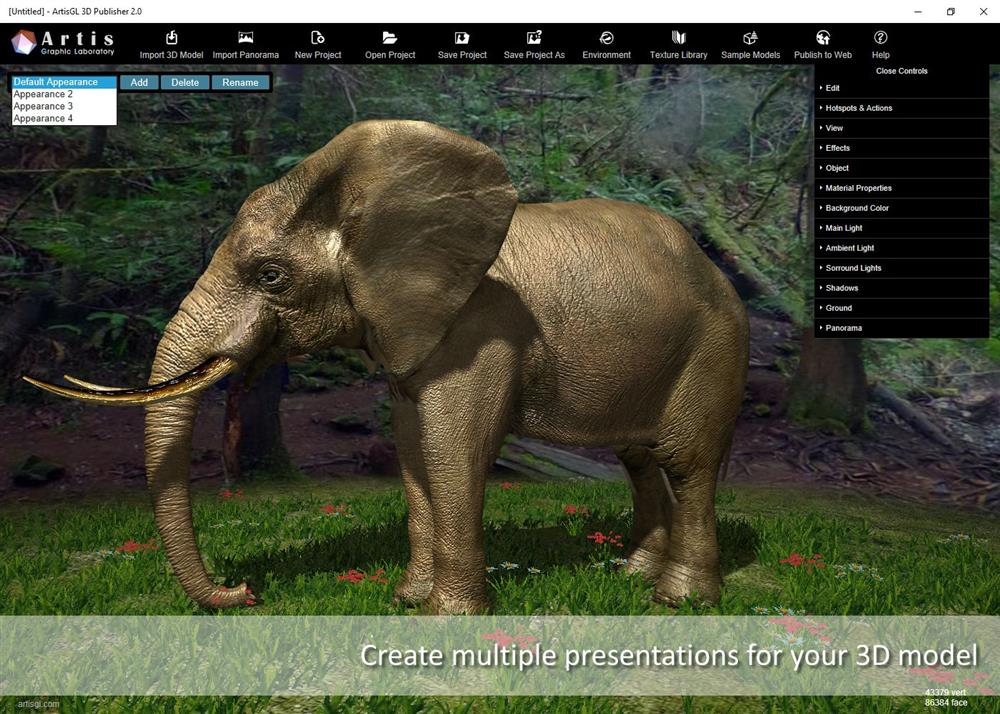 ArtisGL 2 0 Released  Make your 3D models live and sell it